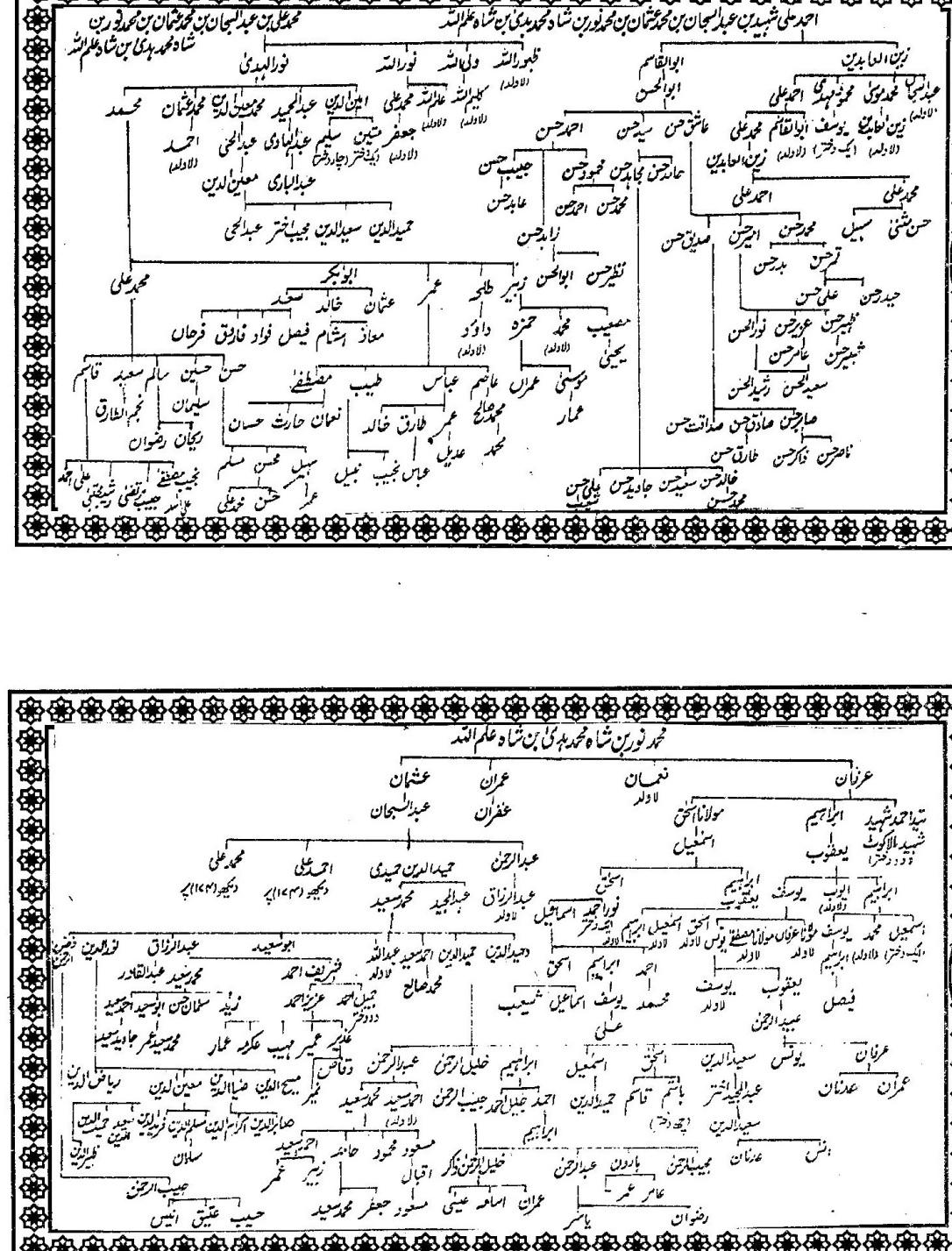 Shajra Aulad Shah Ilmullah-2