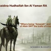 Hazrat Huzaifa bin al-Yamaan r.a