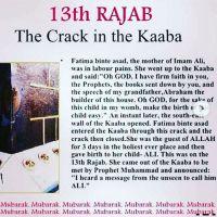 Mawla Ali(عليه السلام) ki wiladat Khaan e Kaaba main