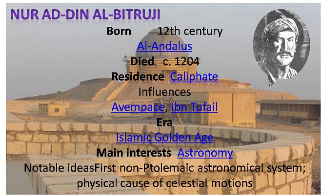 Image result for Nur ad-Din al-Bitruji