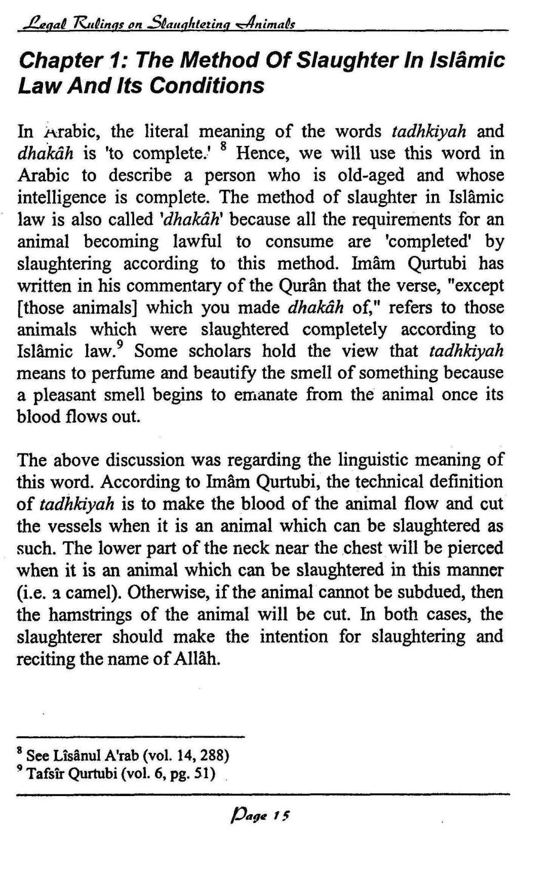 English-InIslamLegalRulingsOnSaughteredAnimal-MuftiTaqiUsmani_Page_08