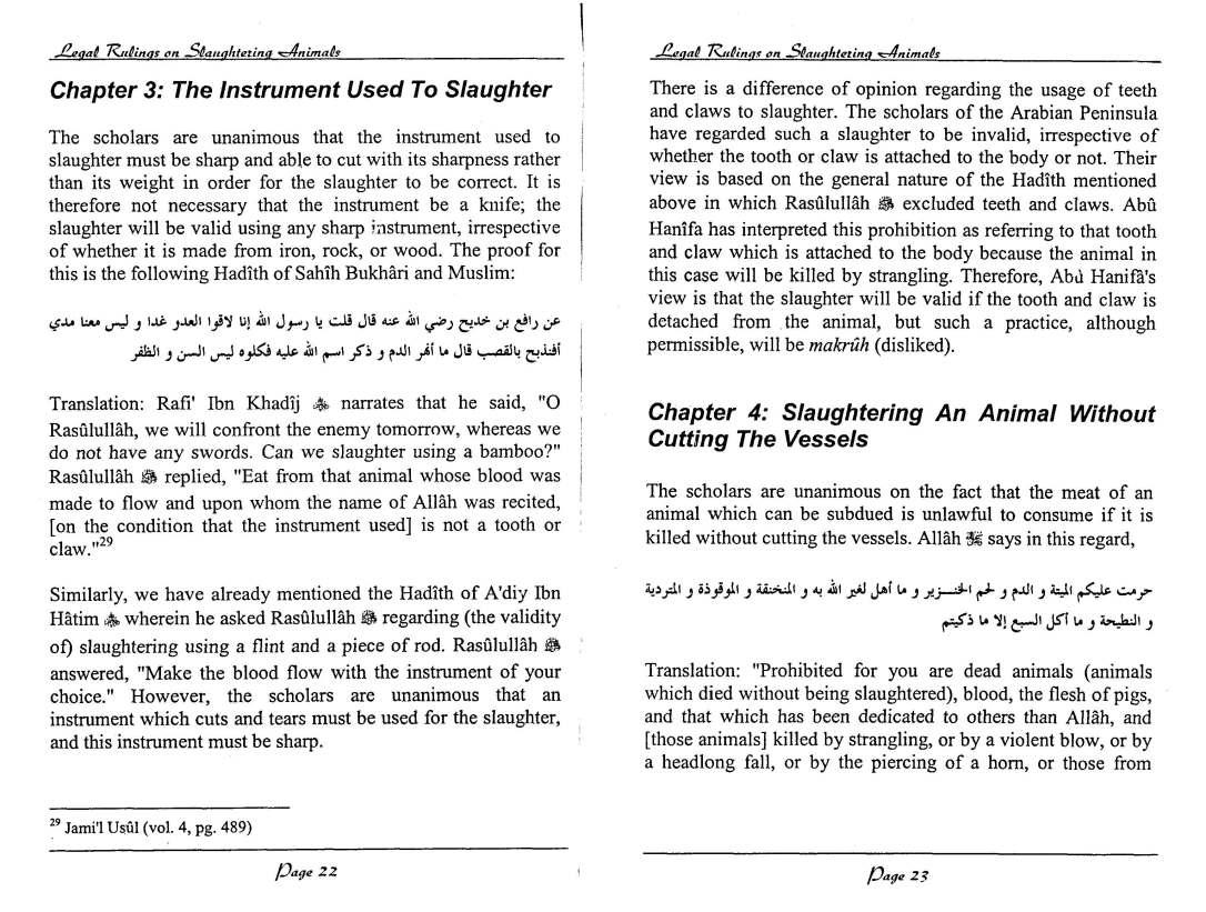 English-InIslamLegalRulingsOnSaughteredAnimal-MuftiTaqiUsmani_Page_12