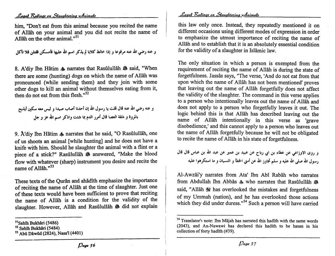 English-InIslamLegalRulingsOnSaughteredAnimal-MuftiTaqiUsmani_Page_19