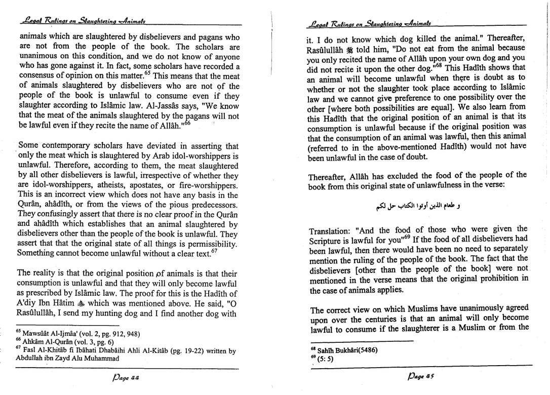 English-InIslamLegalRulingsOnSaughteredAnimal-MuftiTaqiUsmani_Page_23