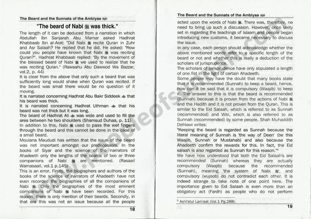 TheBeardAndTheSunnatsOfAmbiyaByMuftiSaeedAhmadPalanpuri_Page_11
