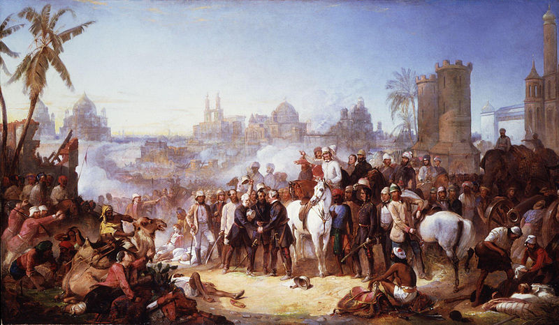The_Relief_of_Lucknow_1857_by_Thomas_Jones_Barker