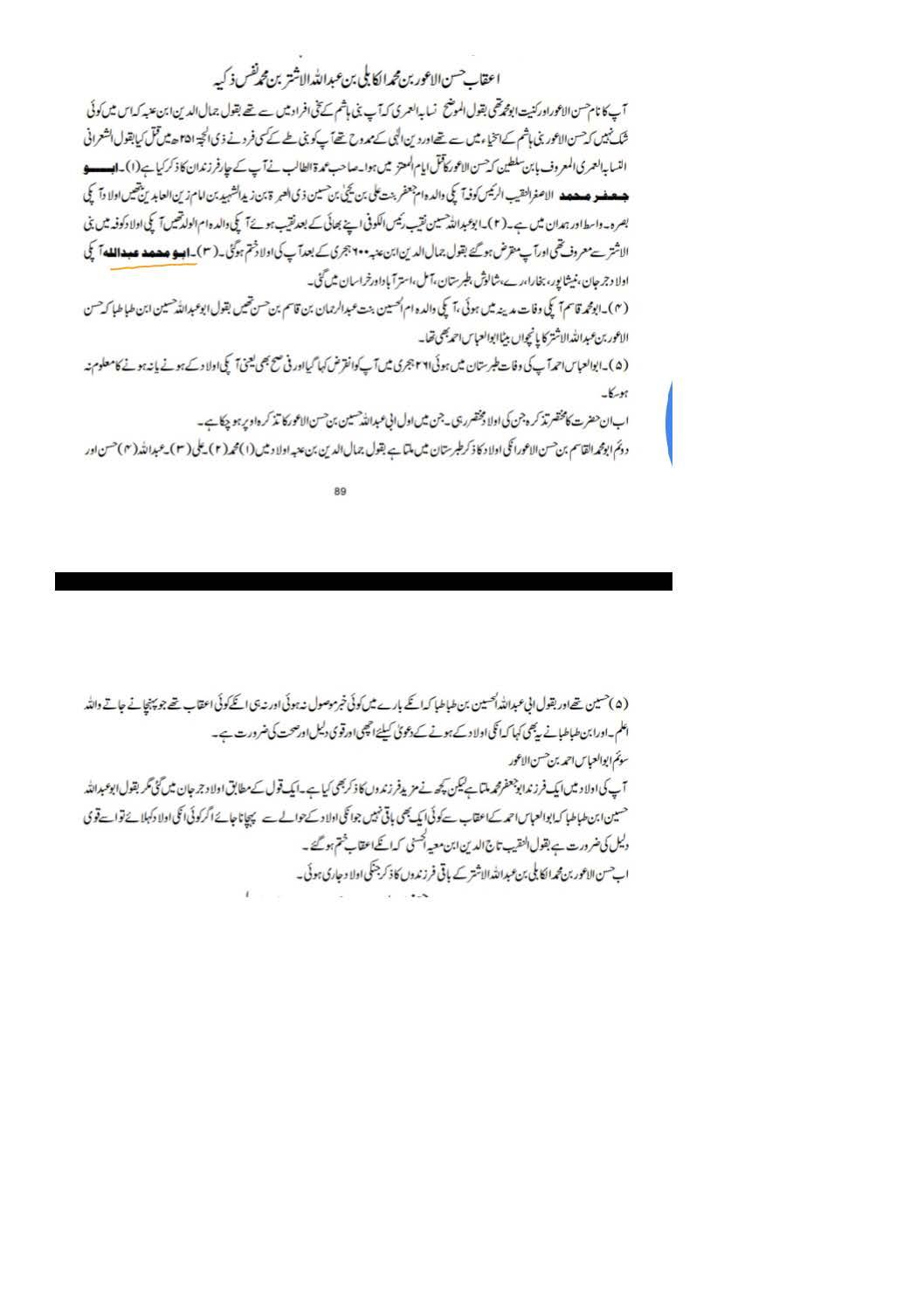 Sanad e Khandaan e sadaat e qutbiya _Page_08