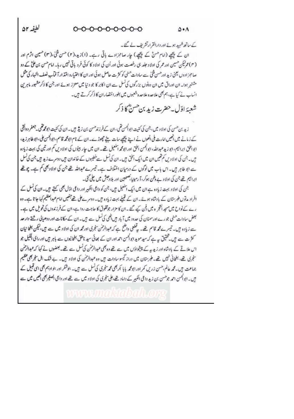 Sanad e Khandaan e sadaat e qutbiya _Page_13