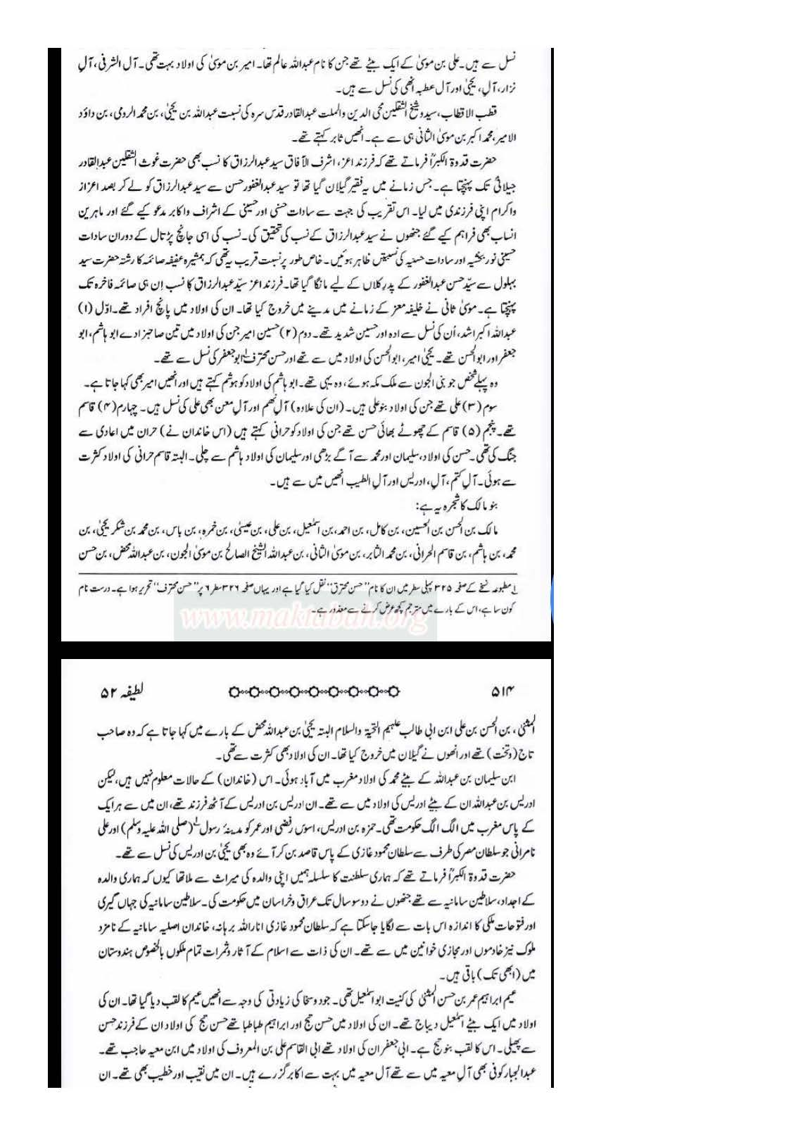 Sanad e Khandaan e sadaat e qutbiya _Page_17