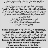 9 Safar Hazrat Ammar bin Yasir ki Shahdat